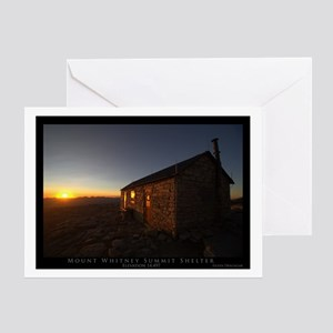 Mt. Whitney Shelter Greeting Card
