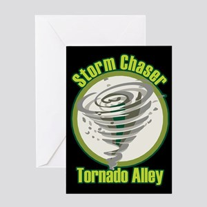 Storm Chaser Logo Greeting Card