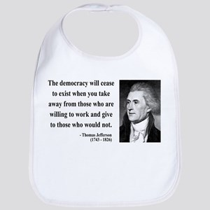 Thomas Jefferson 3 Bib