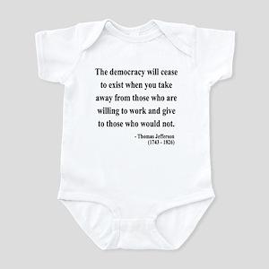 Thomas Jefferson 3 Infant Bodysuit