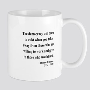 Thomas Jefferson 3 Mug