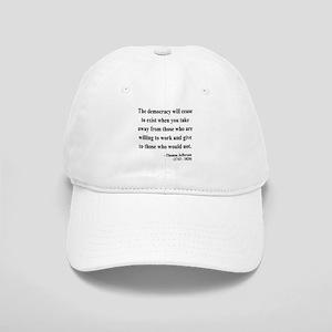 8fd8d6ad4d5 Jefferson Quote Hats - CafePress