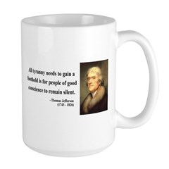 Thomas Jefferson 4 Large Mug