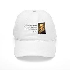 Thomas Jefferson 4 Baseball Cap