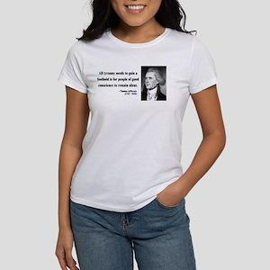 Thomas Jefferson 4 Women's T-Shirt