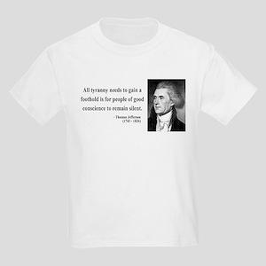 Thomas Jefferson 4 Kids Light T-Shirt