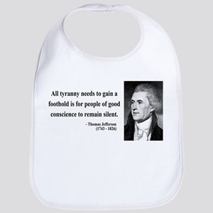 Thomas Jefferson 4 Bib