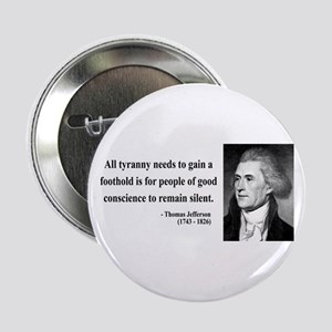 "Thomas Jefferson 4 2.25"" Button"