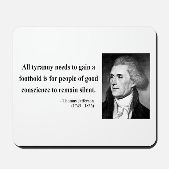 Thomas Jefferson 4 Mousepad