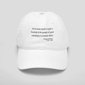 Thomas Jefferson 4 Cap