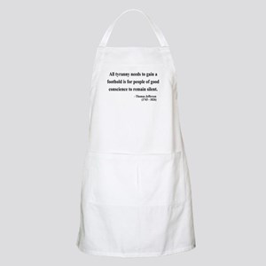 Thomas Jefferson 4 BBQ Apron