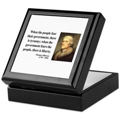 Thomas Jefferson 6 Keepsake Box