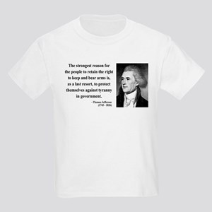 Thomas Jefferson 7 Kids Light T-Shirt