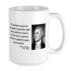 Thomas Jefferson 7 Large Mug