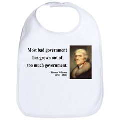 Thomas Jefferson 8 Bib