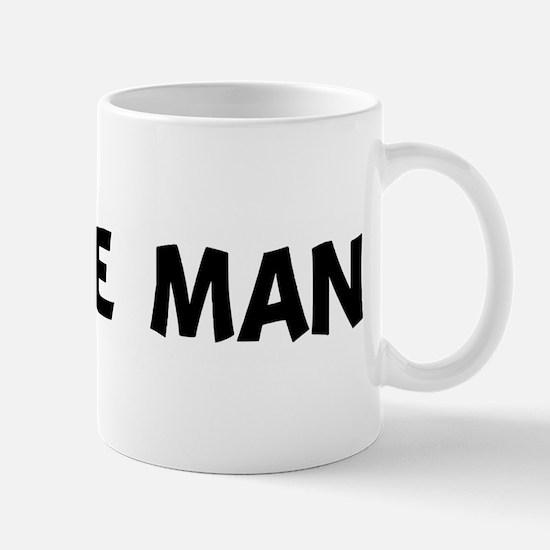i'm the man Mug