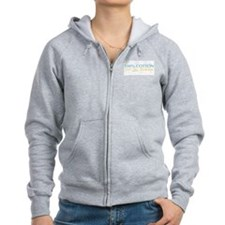 100% Cotton For His Pleasure Women's Zip Hoodie