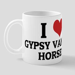 I Love Gypsy Vanner Horses Mug