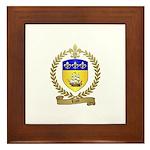 LIZOT Acadian Crest Framed Tile