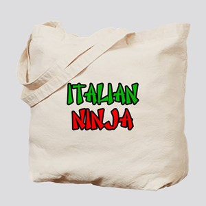 """Italian Ninja"" Tote Bag"