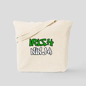 """Irish Ninja"" Tote Bag"