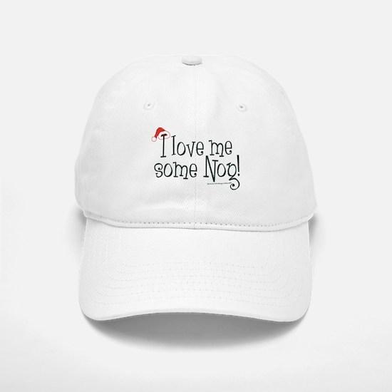Love me some Eggnog! Baseball Baseball Cap