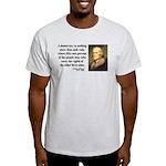 Thomas Jefferson 16 Light T-Shirt