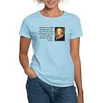 Thomas Jefferson 16 Women's Light T-Shirt