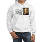 Thomas Jefferson 16 Hooded Sweatshirt
