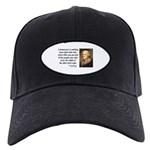 Thomas Jefferson 16 Black Cap