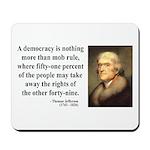 Thomas Jefferson 16 Mousepad