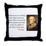 Thomas Jefferson 16 Throw Pillow