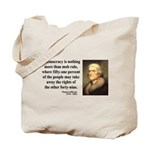 Thomas Jefferson 16 Tote Bag