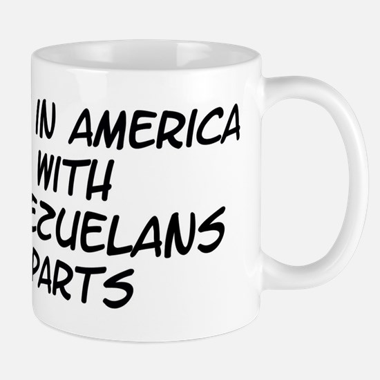 Venezuelans Parts Mug
