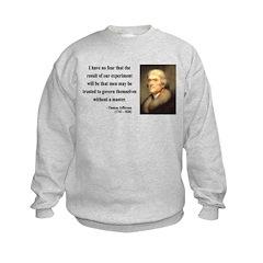 Thomas Jefferson 19 Sweatshirt