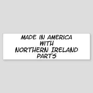 Northern Ireland Parts Bumper Sticker