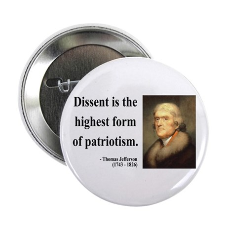 "Thomas Jefferson 24 2.25"" Button (10 pack)"