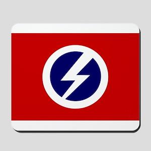 Flash and Circle Mousepad