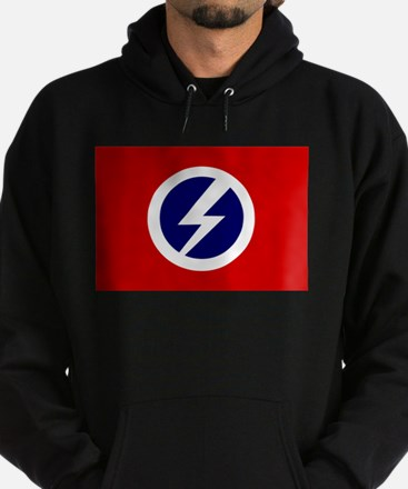 Flash and Circle Hoodie (dark)