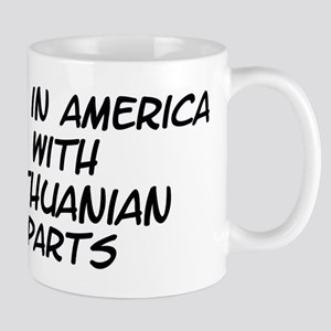 Lithuanian Parts Mug