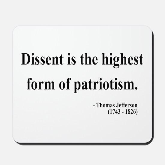 Thomas Jefferson 24 Mousepad