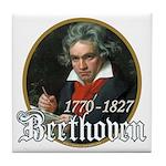 Ludwig von Beethoven Tile Coaster