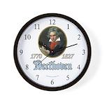 Ludwig von Beethoven Wall Clock