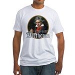 Ludwig von Beethoven Fitted T-Shirt