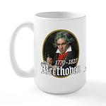 Ludwig von Beethoven Large Mug