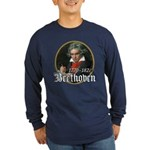 Ludwig von Beethoven Long Sleeve Dark T-Shirt
