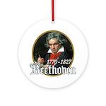 Ludwig von Beethoven Ornament (Round)