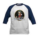 Ludwig von Beethoven Kids Baseball Jersey