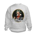 Ludwig von Beethoven Kids Sweatshirt