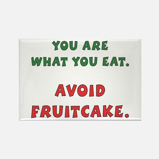 Avoid Fruitcake Rectangle Magnet